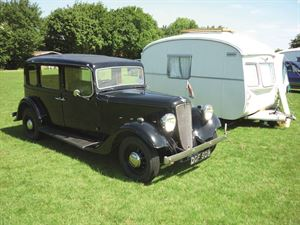 Beautiful caravanning history