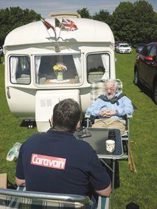 Caravan royalty: Cecil Gardner