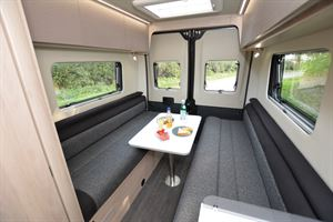 Auto-Trail Expedition 66 lounge (Credit: Peter Vaughan)