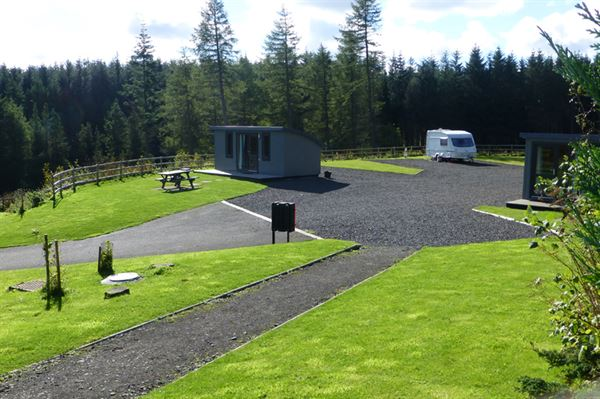Luxury little lodges add to the accommodation options