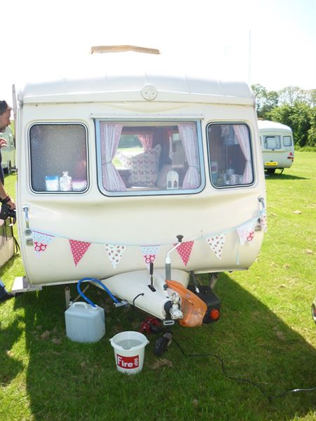 Many Cheltenham caravans remain in mint condition
