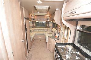 The interior of the Auto-Sleeper Broadway EL motorhome