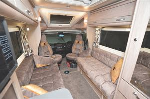 Interior view through to the cab