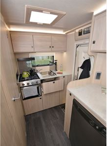 The Auto-Trail Expedition C63 motorhome kitchen