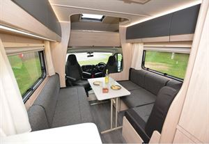 The Auto-Trail Expedition C63 motorhome view forwards