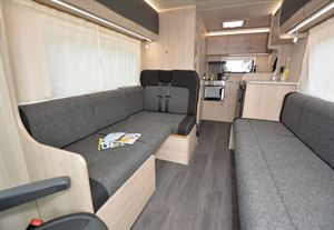 The Auto-Trail Expedition C63 motorhome view rearwards