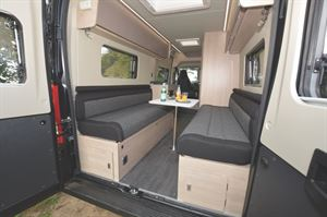 Inside the Auto Trail Expedition 66 - best budget van conversion
