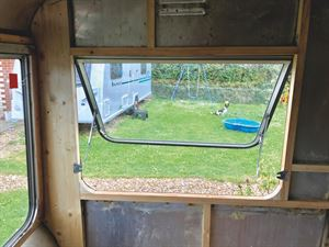 The view from inside the Bailey Maru