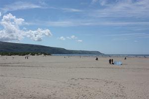 The beach at Barmouth