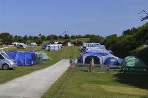 Camping and touring area