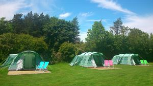 A selection of ready tents are available for hire