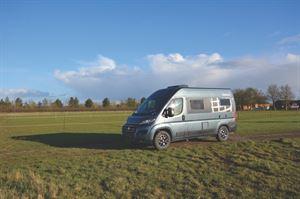 The Globecar Roadscout Elegance - best fixed bed van conversion