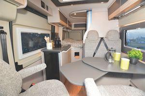 The interior of the Globecar Roadscout Elegance