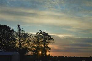 Enjoy stunning sunsets