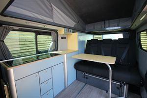 Inside the HemBil LWB Renault Drift campervan