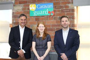 Holly Lynch visits Caravan Guard