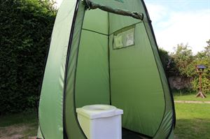 portable camping toilet tent
