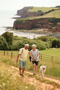 Enjoy relaxing walks and the site is dog friendly