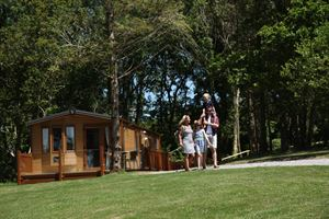 Lodge accommodation is also available