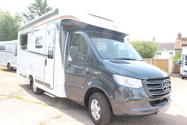 Motorhome of the Month for September is this Burstner Lyseo M 690G - picture courtesy of Chelston Motorhomes