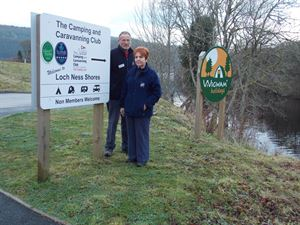 Franchisees Lyn and Donald Forbes have been welcoming visitors on-site since 2013