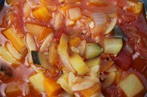 Fresh veg is the key ingredient (Photo by Iain Duff)
