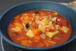 Minestrone soup (photo by Iain Duff)