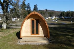 Blair Castle camping pods