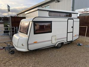 Marc Jordan bought a pop top Rapido caravan in need of some TLC and is using lock-down to renovate it from the comfort of his home in Norfolk