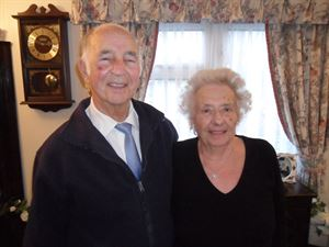 Arthur Kempster and his wife, Jean