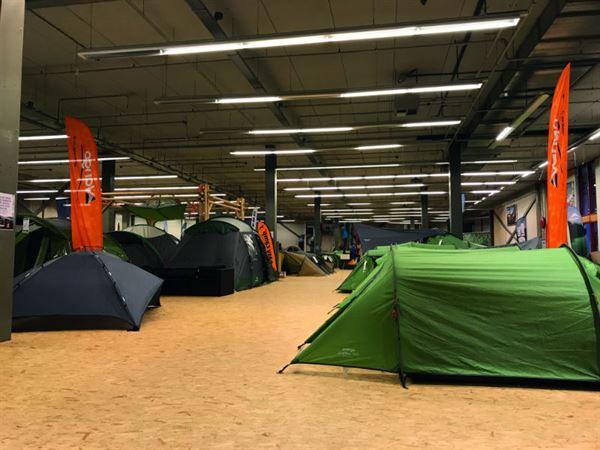 Tent retailer