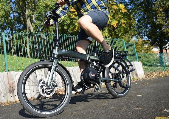 Tern Vektron is a top-of-the-range folding bike