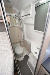 Auto-Sleeper Kingham washroom (Credit: Peter Vaughan)