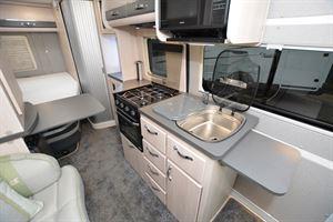 Auto-Sleeper Kingham kitchen (Credit: Peter Vaughan)