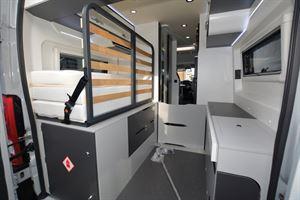 Pilote Van V600G Premium boot space (Credit: Peter Vaughan)