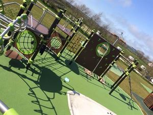 Children will love the play area