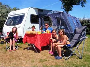 A touring caravan is a home from home