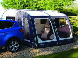 Setting up your touring caravan on site.