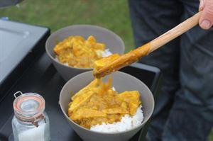 Veggie cooking (photo by Iain Duff)