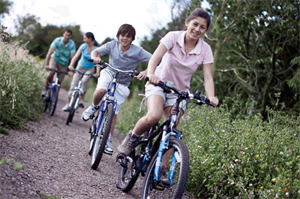 Enjoy cycling in the local area