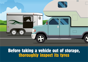 Tyresafe is urging motorhome and caravan owners to check their tyres