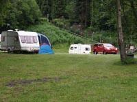 Dinas Farm campsite