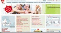 The Visit Denmark website