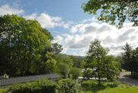 View over Skelwith Fold Caravan Park