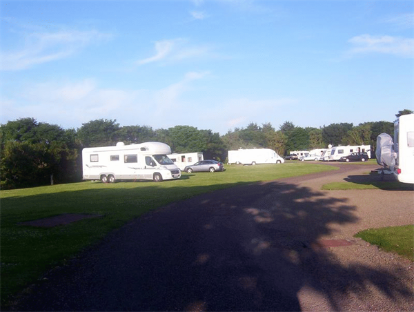 Campsites in highland wick the wick caravan camping site uk campsite finder out and for Wick swimming pool opening times