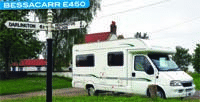 Motorhome review - head to head between the Bessacarr E450 and Chausson Welcome 55