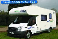 Motorhome review - Head to head Chausson Flash 03 v McLouis Lagan 202SE