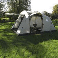 Coleman Mackenzie Cabin 4 Reviews Camping Out And
