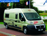 Motorhome review - head to head between the Devon Aztec and the Trigano Tribute 650 Classique