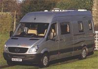 Motorhome review - Devon Sapphire on 2.2 CDI Mercedes-Benz Sprinter from 2007